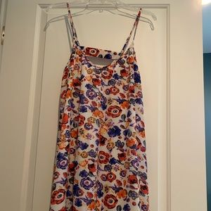 Pansy dress from Saks.